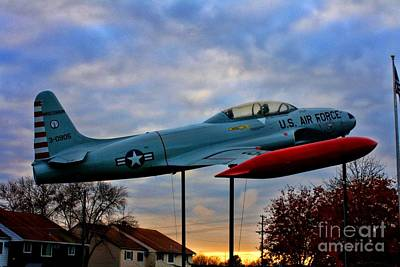 Vfw F-80 Shooting Star Poster by Tommy Anderson
