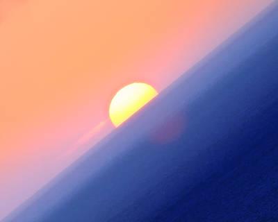 Vibrant Sun Poster