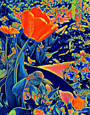 Vibrating Spring Poster