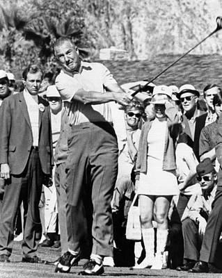 Vice President Spiro Agnew Golfing Poster by Everett