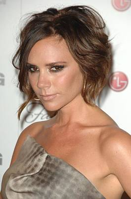 Victoria Beckham At Arrivals For A Poster by Everett