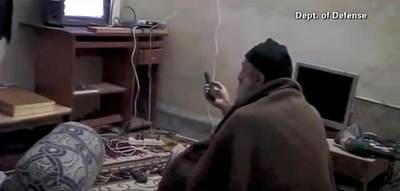 Video Still Of Al Qaedo Terrorist Poster by Everett