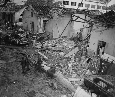 Vietnam War. Destruction Of The Brinks Poster