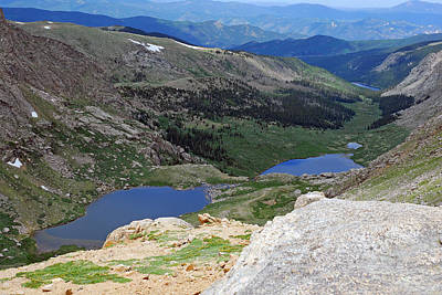 View From Atop Mt. Evans Poster