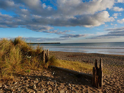 View From The Dunes At Tramore. Poster