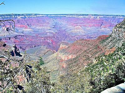 View From The South Rim Poster
