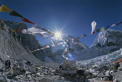 View Of Base-camp, The Starting Point Poster by Bobby Model