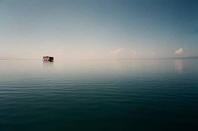 View Of Lake Qinghai Poster