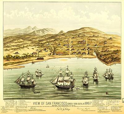 View Of San Francisco Poster