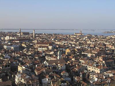 View Of Venice Poster by Bernard Jaubert