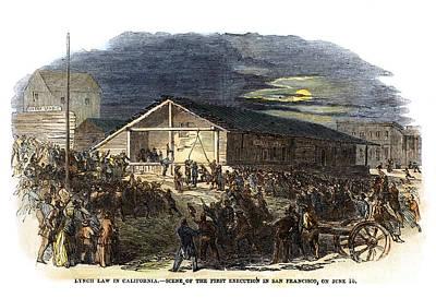 Vigilantes, 1851 Poster by Granger