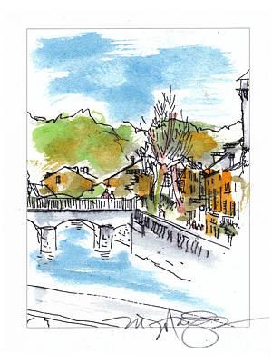 Village In Sw France Poster