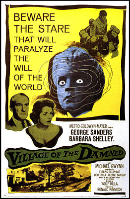 Village Of The Damned, George Sanders Poster