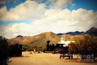 Village View Of Old Tuscon Arizona Poster