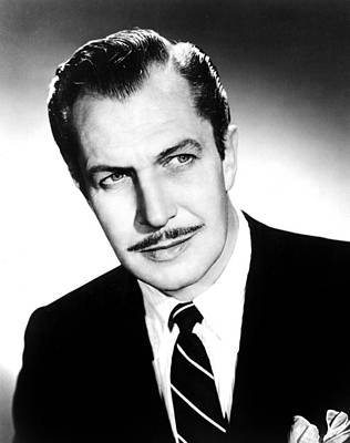 Vincent Price, 1950s Poster