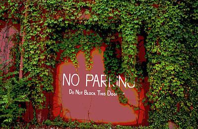 Vines Blocking The Door Poster by Paul Mashburn