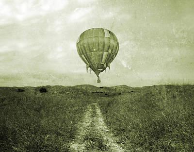 Vintage Ballooning Poster