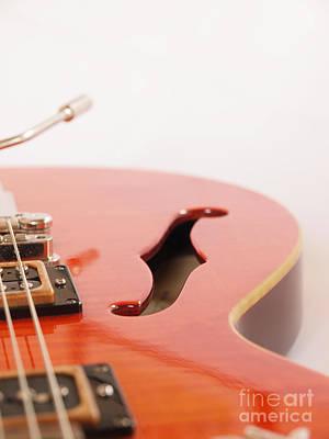 Vintage Guitar Poster