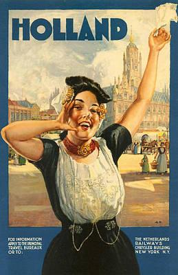 Vintage Holland Poster