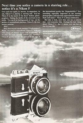 Vintage Nikon Camera Poster