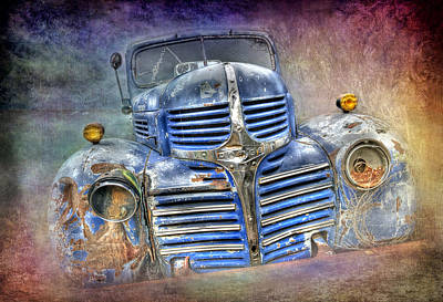 Vintage Rainbow Dodge Poster