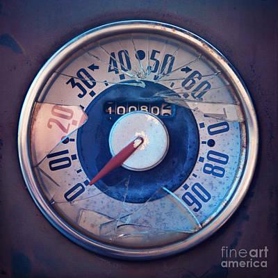 Vintage Speed Indicator  Poster by Priska Wettstein