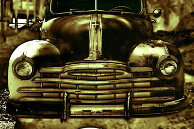 Vintage Truck Poster by Dawn Nicoli