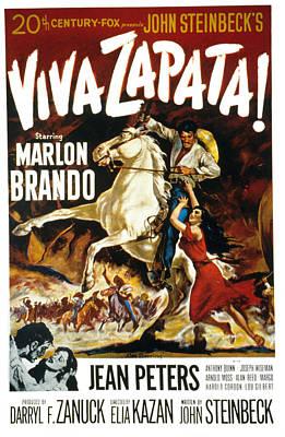 Viva Zapata, Marlon Brando, Jean Poster by Everett