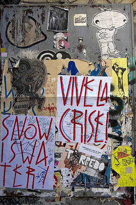 Vive La Crise Poster