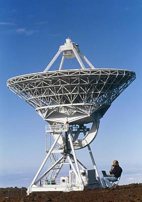 Vlba Radio Telescope Poster by G. Brad Lewis
