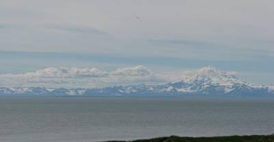 Volcano In Alaska Poster