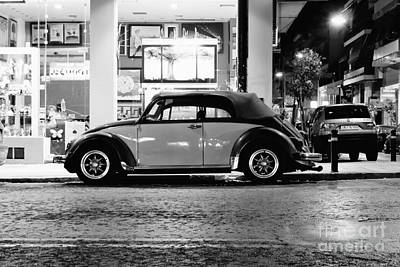 Volkswagen Beetle Poster by Hristo Hristov