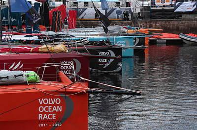 Volvo Ocean Race 2011-2012 Poster