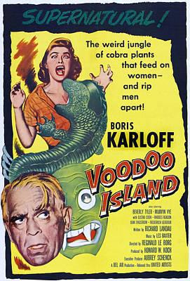 Voodoo Island, Boris Karloff, Beverly Poster
