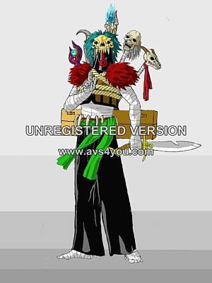 Voodoo Shaman Poster