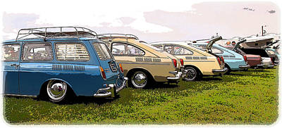 Vw Row Poster