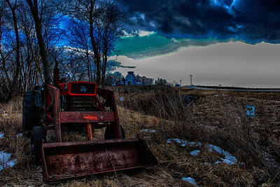 Poster featuring the photograph Waiting For Spring by Kimberleigh Ladd