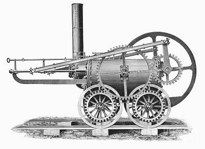 Wales: Locomotive, 1804 Poster by Granger
