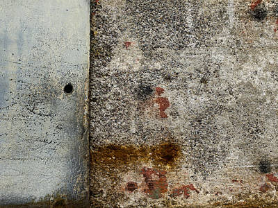 Wall Texture Number 10 Poster by Carol Leigh