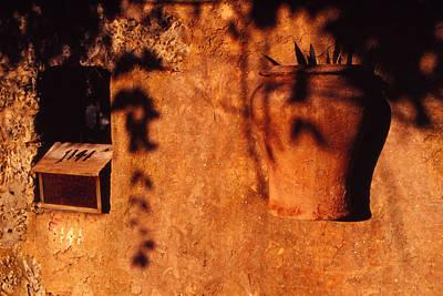 Wall Urn Poster by Bob Whitt