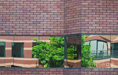 Wall Warp Poster by Dan Holm