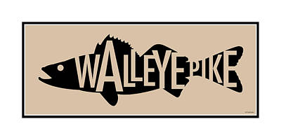 Walleye Pike Poster