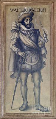 Walter Raleigh, English Explorer Poster
