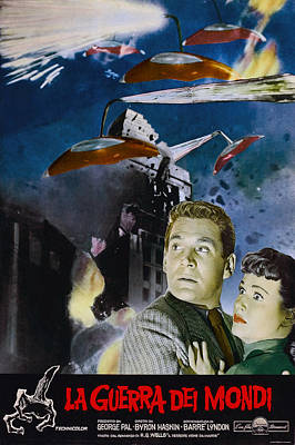 War Of The Worlds, Left To Right Gene Poster