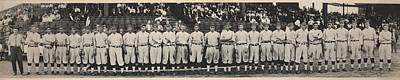 Washington Baseball Team, Schutz Group Poster