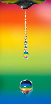 Water Dripping Poster