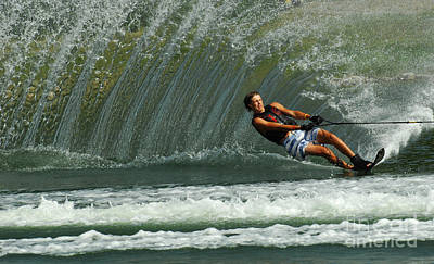 Water Skiing Magic Of Water 1 Poster