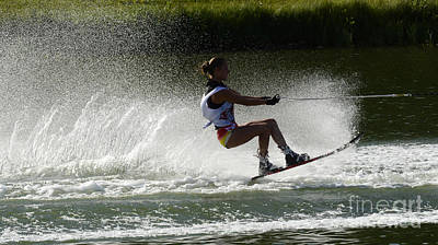 Water Skiing Magic Of Water 16 Poster