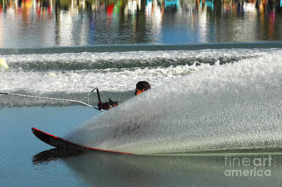 Water Skiing Magic Of Water 17 Poster