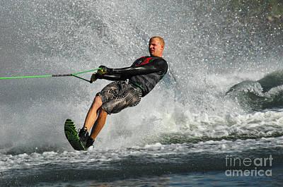 Water Skiing Magic Of Water 20 Poster